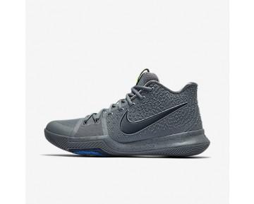 Chaussure Nike Kyrie 3 Pour Homme Basketball Gris Froid/Pure/Bleu Polarisé/Bleu Nuit Marine_NO. 852395-001