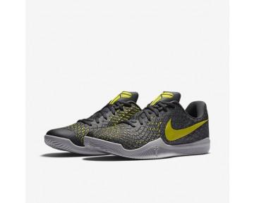 Chaussure Nike Kobe Mamba Instinct Pour Homme Basketball Poussière/Vert Citron Électrique/Platine Pur/Anthracite_NO. 852473-003