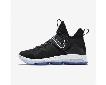 Chaussure Nike Lebron Xiv Ep Pour Homme Basketball Noir/Glacier/Blanc_NO. 921084-002