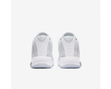 Chaussure Nike Jordan B. Fly Pour Homme Basketball Blanc/Platine Pur/Gris Loup_NO. 881444-100
