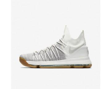 Chaussure Nike Zoom Kd 9 Elite Pour Homme Basketball Gris Pâle/Ivoire/Gris Pâle_NO. 878637-001
