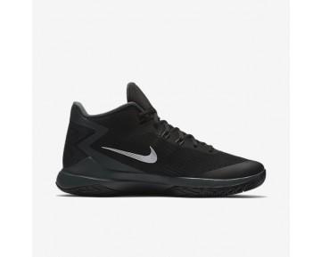 Chaussure Nike Zoom Evidence Pour Homme Basketball Noir/Anthracite/Gris Loup/Argent Métallique_NO. 852464-001