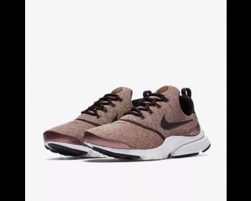 NIKE PRESTO FLY SE Chaussure pour Femme Vin Porto/Rose particule/Noir/Acajou métallique 910570-602