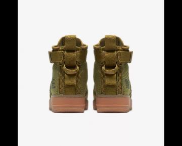 NIKE SF AIR FORCE 1 MID Chaussure pour Homme Mousse désert/Gomme marron/Noir/Mousse désert 917753-301